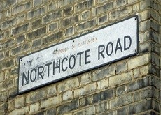 Northcote Road Summer Road Sign