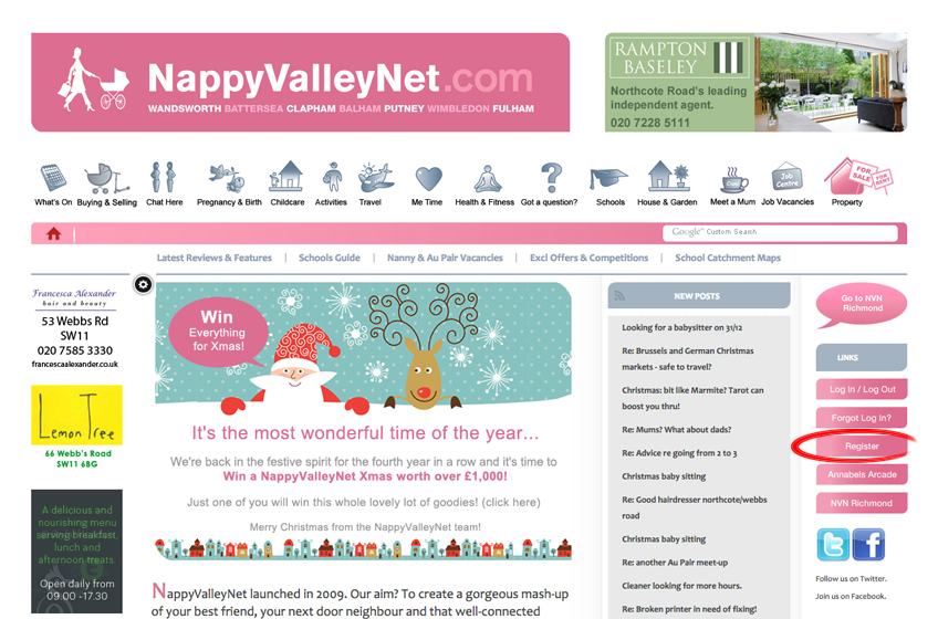 How to start a conversation or post on NappyValleyNet
