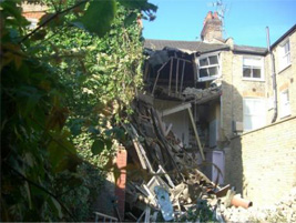 Heaver house collapses during renovation