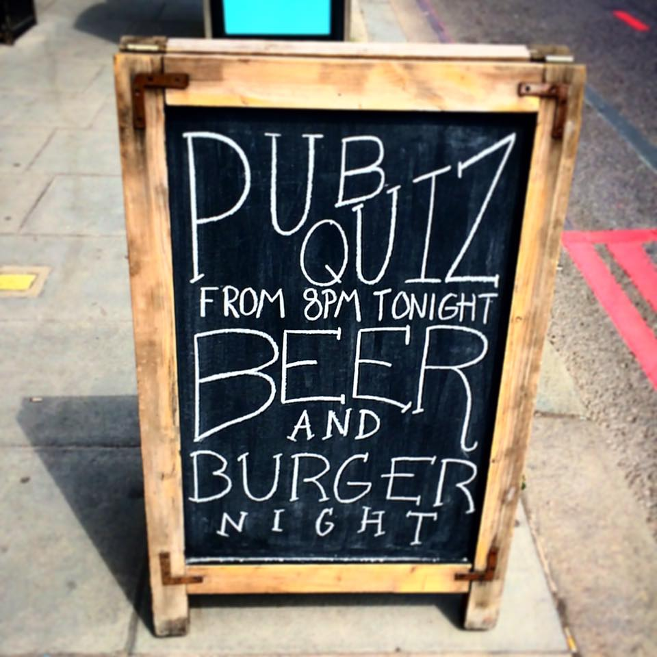 The Goat in Wandsworth pub quiz