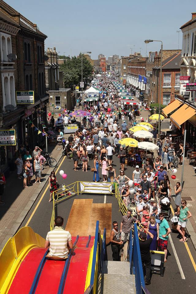 Northcote Road Summer Fete Street South