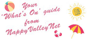 A Super Summer Summary: Your What's On guide from NappyValleyNet