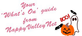 Flip Out Halloween Weekender, 11+ revision courses and half term fun: Your What's On activity guide from NappyValleyNet
