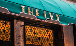 The dinner of theatre – Dining at The Ivy