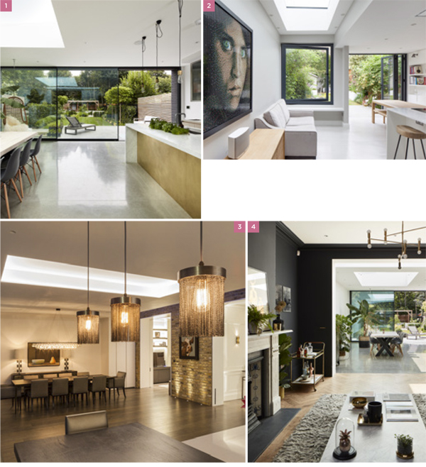 Open-plan design