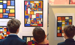 Falcons School for Boys Raise £3,000 During Art Exhibition