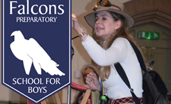 Budding Explorers at Falcons Preparatory School for Boys Challenged