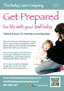 2nd baby preparation class, The Baby Care Company, 1-2 year gap @ Off Northcote Road, SW11