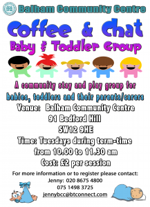 Baby and Toddler Group @ Balham Community Centre | London | United Kingdom