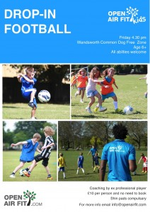 Kids' Drop-In Football @ Wandsworth Dog Free Zone, Wandsworth Common | London | United Kingdom