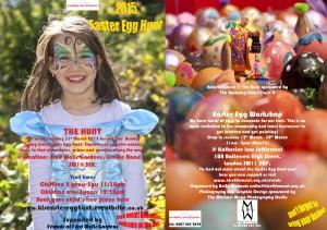 Fancy Dress Easter Egg Hunt 2015 @ Fred Wells Gardens  | London | United Kingdom