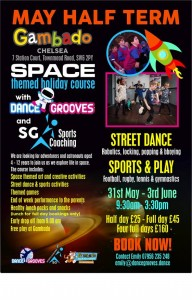 May Half Term Street Dance and Sports @ Gambado Chelsea | London | United Kingdom