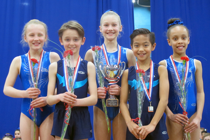 Hornsby House are National U11 mixed team gymnastics champions
