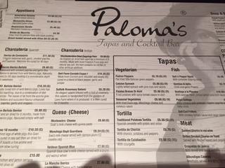 Paloma's Tapas
