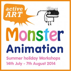 Monster Animation Active Art @ Nature Study Centre Wandsworth Common | London | United Kingdom