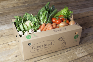 Riverford vegbox 3
