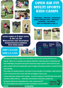 Open Air Fit Half term Kids' Camps @ Wandsworth Common Dog Free Zone | London | United Kingdom