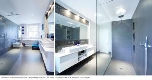 Surface Tiles bathroom in London