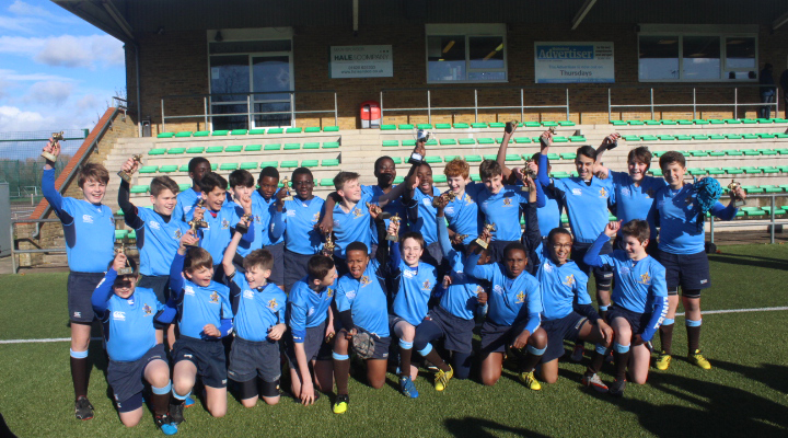 Trinity Rugby U13s win National Final LR