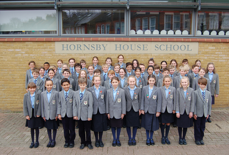 Year 6 at Hornsby House School 2016