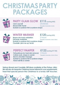 Christmas Party Beauty Packages at Cosmedics Putney Beauty Salon @ Cosmedics Putney Beauty Salon | United Kingdom