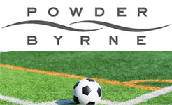Powder Byrne sponsor South West London youth Football Club