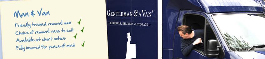 man-van