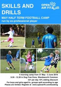 May Half-Term Football Camp @ Wandsworth Common Dog Free Zone | London | United Kingdom