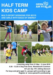 May Half-term Multi Sport Kids Camp @ Wandsworth Common Dog Free Zone | London | United Kingdom