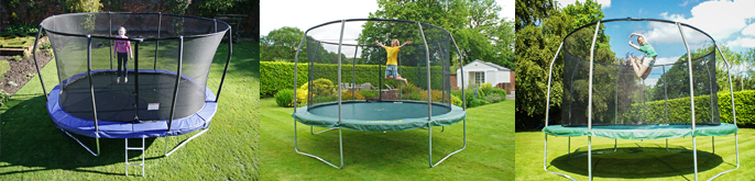 Jumpking trampolines